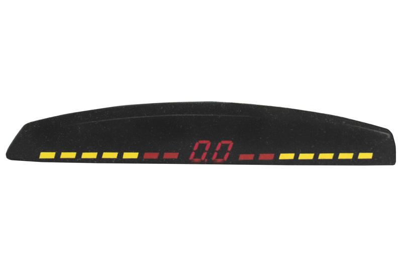Датчики парковки INTERPOWER-415 (4 датчика, цвет серебро)